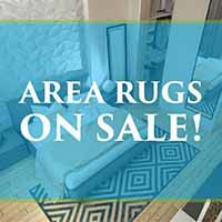 Save 75% off in-stock Area Rugs during our Spring Fling Sale at Port City Flooring in Portland