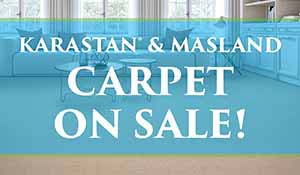 Save one Karastan and Masland Wool Carpet during our Spring Fling Sale at Port City Flooring in Portland