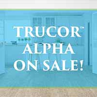 TruCor Alpha Luxury Vinyl Flooring starting at $2.79 sq.ft. during our Spring Fling Sale at Port City Flooring in Portland